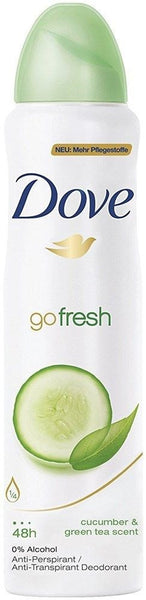 Dove Go Fresh Cucumber Scent Deodorant, 169ml