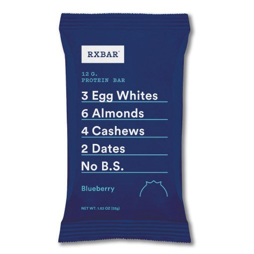 RXBAR Protein Bar, Blueberry, 1.83 oz