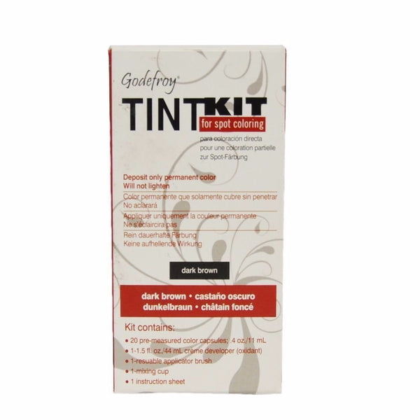 Godefroy 4 Applications Tint Kit, Dark Brown
