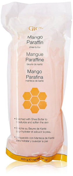 Gigi GG-930 Paraffin Hair Removal Wax, Mango, 16 Ounce