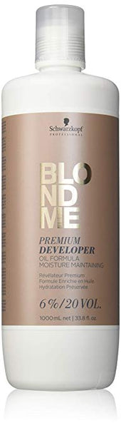 Schwarzkopf BlondMe Premium Developer 6%/20 Volume 33.8 Ounce