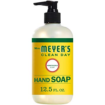 Mrs. Meyer's Clean Day Liquid Hand Soap, Honeysuckle - 12.5 oz