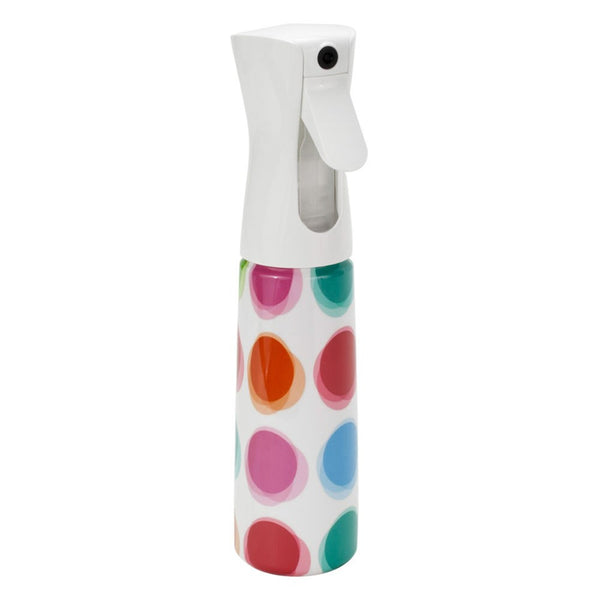 Flairosol Air-Tight Empty Hair Stylist 2 Part Misting Spray Bottle-POLKA DOT