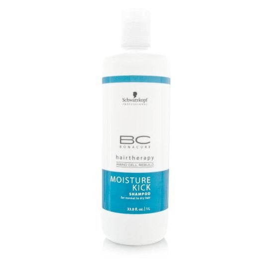 Schwarzkopf BC Bonacure Moisture Kick Shampoo, 33.8 oz - BEAUTY IT IS