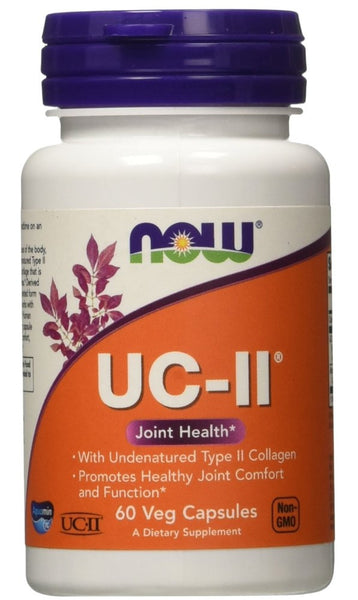 Now Foods UC-II Undenatured Type II Collagen 40 mg, 60 Veg Capsules