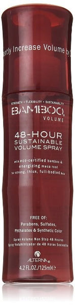 Alterna Bamboo Sustainable Volume Hair Spray for Unisex, 4.2 Ounce