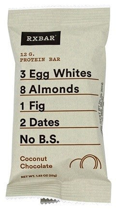 RXBAR Protein Bar, Coconut Chocolate, 1.83 oz
