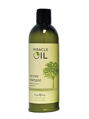 Earthly Body Miracle Oil Tea Tree Shampoo, 16 fl oz