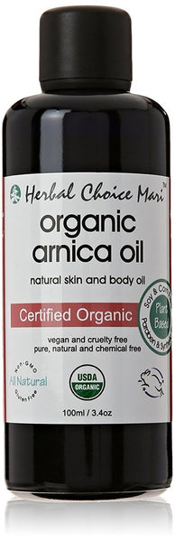 Herbal Choice Mari Organic Arnica Oil 100ml/3.4 oz