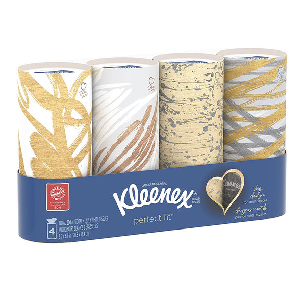 Kleenex Perfect Fit, 50 Count, (4 pack)