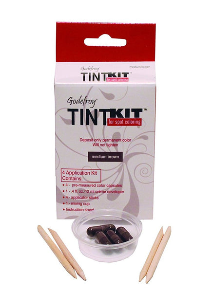 Godefroy Tint Kit Medium Brown,1.6 oz