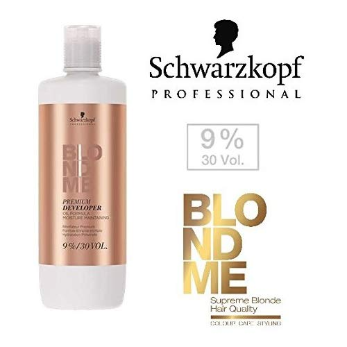 Schwarzkopf Professional Blondme Premium Developer 9% / 30 Volume 33.8 Ounce