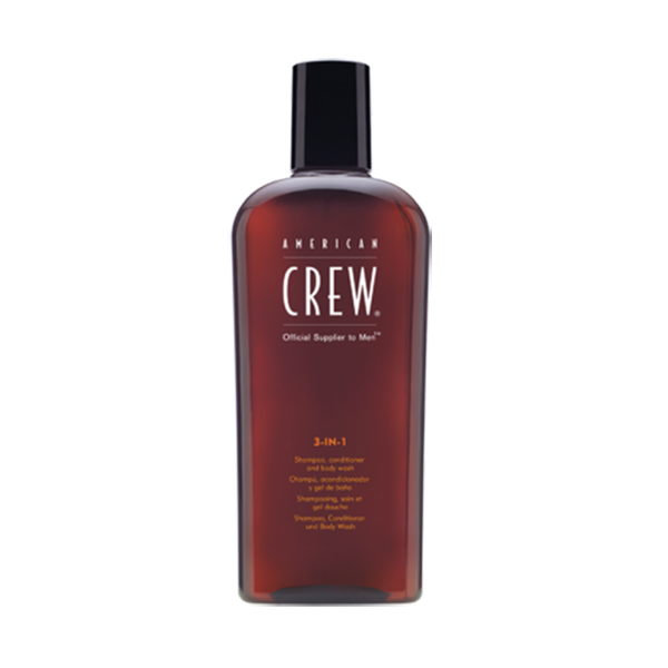 American Crew 3 in 1 Shampoo Conditioner and Body Wash,8.45 oz - BEAUTY IT IS