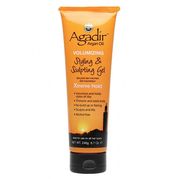 Agadir Argan Oil Volumizing Styling & Sculpting Gel Xtreme Hold, 8.7 oz - BEAUTY IT IS