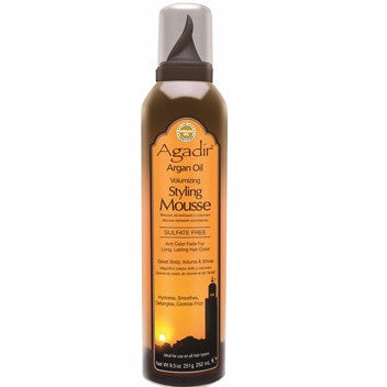 Agadir Argan Oil Volumizing Styling Mousse, 8.5 oz - BEAUTY IT IS