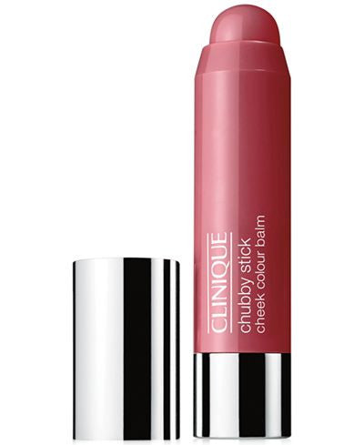 Chubby Stick Cheek Colour Balm - # 04 Plumped Up Peony by Clinique 0.21 oz  Lipstick for Women