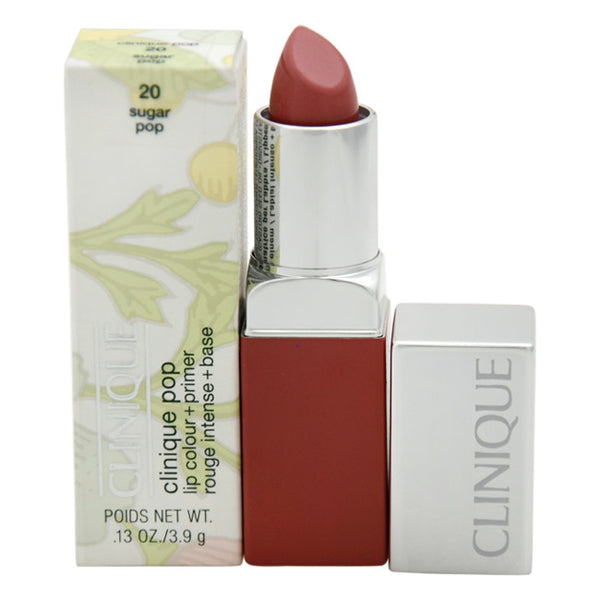 Clinique Pop Lip Colour + Primer - # 20 Sugar Pop by Clinique 0.13 oz  Lipstick for Women