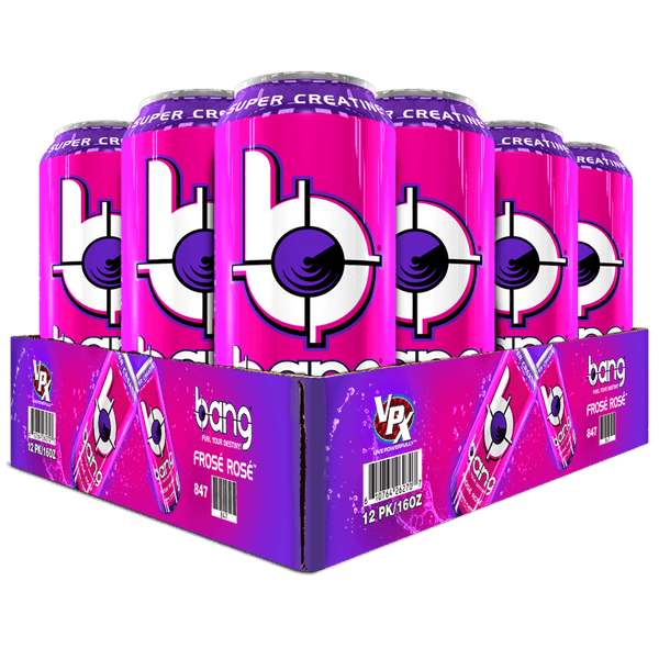 Bang Frose Rose Energy Drink 16 ounces, 12 pack