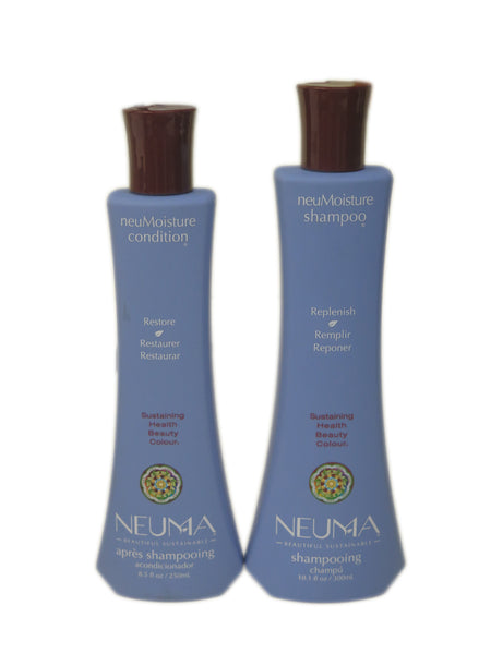Neuma Moisture Shampoo, 10.1 oz. & Conditioner, 8.5 oz.