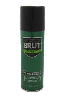 Brut by Faberge Co. 4 oz  Deodorant Spray for Men