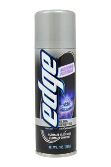 Ultra Sensitive Shave Gel by Edge 7 oz  Shave Gel for Men