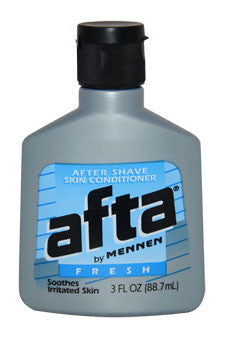 Afta After Shave Skin Conditioner Fresh by Mennen 3 oz  After Shave Conditioner for Men