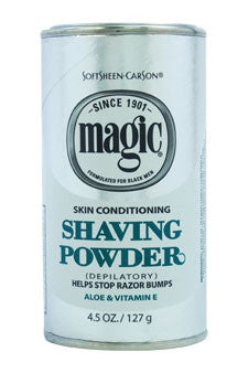 Magic Skin Conditining Shaving Powder by Soft Sheen Carson 4.5 oz  Shave Powder for Men