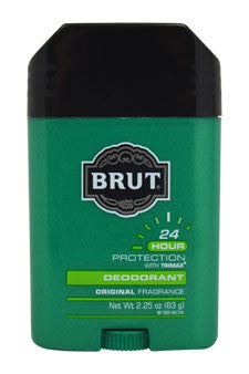 Brut Oval Solid Deodorant by Brut 2.25 oz  Deodorant for Men