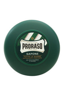Refreshing And Invigorating Shaving Soap With Eucalyptus Oil & Menthol by Proraso 5.2 oz  Shaving Soap for Men