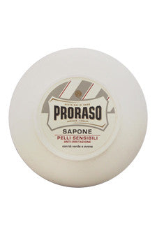 Sensitive Skin Anti-Irritation Shaving Soap With Green Tea & Oatmeal by Proraso 5.2 oz  Shaving Soap for Men