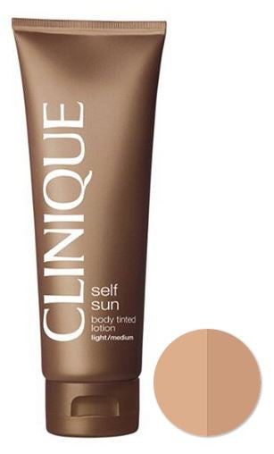Self Sun Body Tinted Lotion Medium/Deep by Clinique 4.2 oz  Lotion for Women