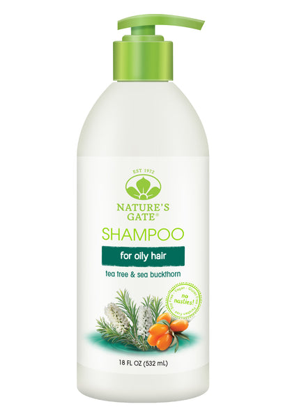 Nature's Gate Calming Tea Tree Shampoo, 18 Ounces