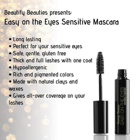 Beautify Beauties Easy On The Eyes, Sensitive Mascara