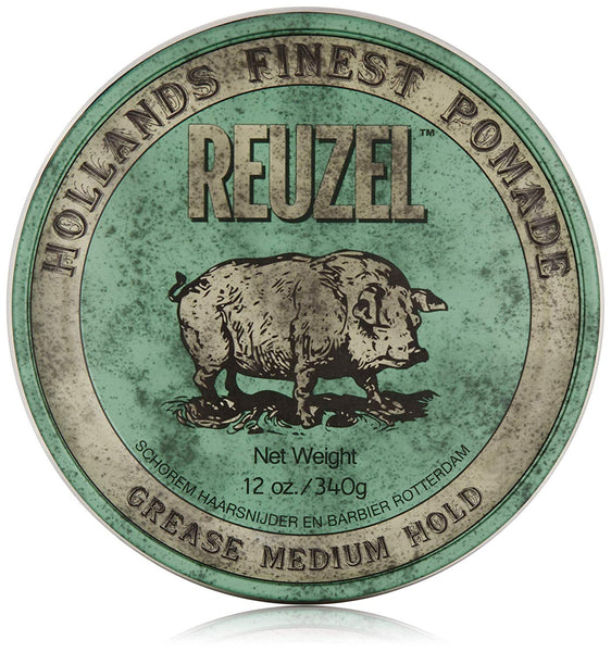 Reuzel Green Pomade Grease 12 Ounce