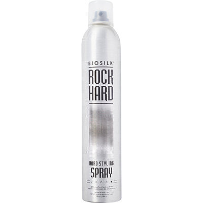 Rock Hard Styling Spray by Biosilk 10 oz  Hair Spray for Unisex