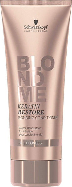 Schwarzkopf Blondme Keratin Restore Bonding Conditioner - All Blondes 6.75 Ounce
