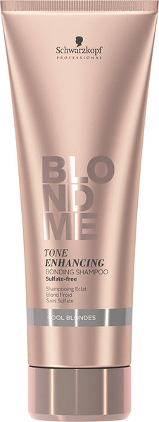 Schwarzkopf Blondme Tone Enhancing Bonding Shampoo - Cool Blondes 8.45 Ounce