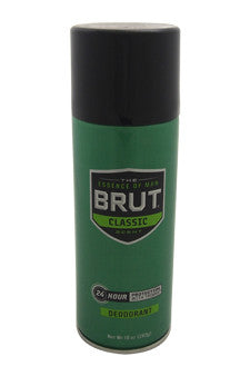 24 Hour Protection with Trimax Deodorant by Brut 10 oz  Deodorant for Unisex