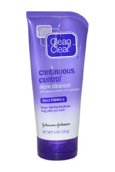 Daily Formula Continuous Control Acne Cleanser by Clean & Clear 5 oz  Cleanser for Unisex