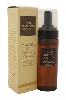 Bearberry Skin Balancing Face Wash by John Masters Organics 6 oz  Face Wash for Unisex