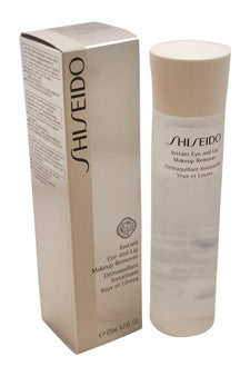 Instant Eye and Lip Makeup Remover by Shiseido 4.2 oz  Makeup Remover for Unisex
