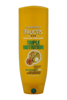 Fructis Fortifying Triple Nutrition Cream Conditioner by Garnier 13 oz  Cream for Unisex