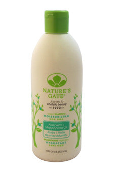 Aloe Vera Moisturizing Shampoo For Normal To Dry Hair by Nature's Gate 18 oz  Shampoo for Unisex