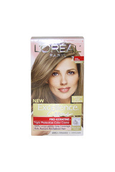 Excellence Creme Pro - Keratine # 7 Dark Blonde - Natural by L'Oreal Paris 1 Application  Hair Color for Unisex