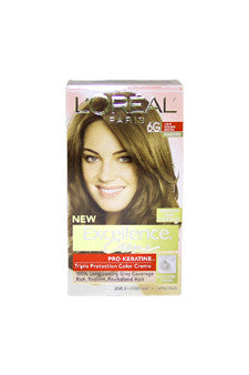 Excellence Creme Pro - Keratine # 6G Light Golden Brown - Warmer by L'Oreal Paris 1 Application  Hair Color for Unisex