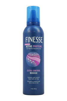 Self Adjusting Extra Control Mousse by Finesse 7 oz  Mousse for Unisex