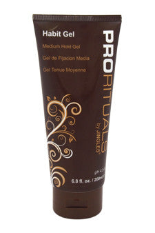ProRituals Habit Gel Medium Hold Gel by Jingles 6.8 oz  Gel for Unisex