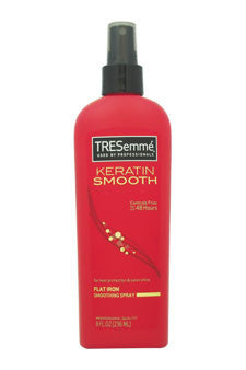 Keratin Smooth Flat Iron Smoothing Spray by Tresemme 8 oz  Hair Spray for Unisex