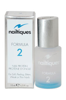 Nailtiques Nail Protein Formula 2 by Nailtiques 0.5 oz  Treatment for Unisex
