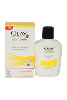 Olay Complete All Day UV Moisturizer SPF 15 by Olay 4 oz  Moisturizer for Unisex